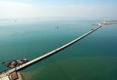 Временый мост Тамань-Тузла